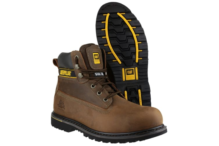 Caterpillar Holton SB Safety Boot / Mens Boots / Boots Safety (Brown) (13 UK)