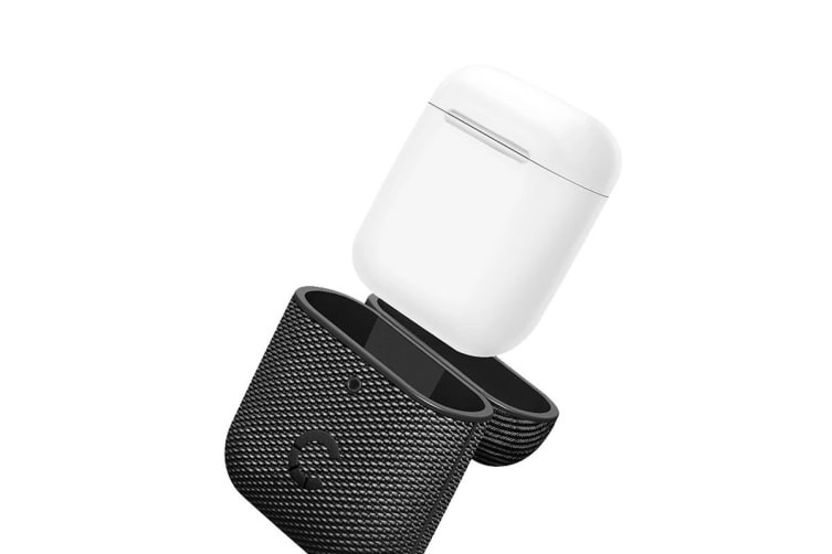 Cygnett TekView AirPods 1 & 2 Case - Grey/Black (CY2954TEKVI)