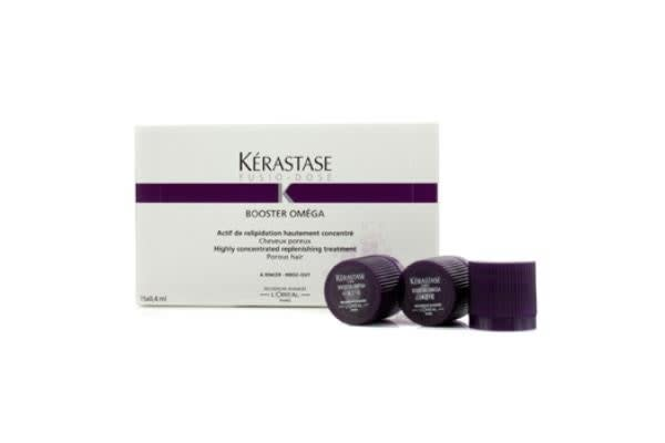 Kerastase Fusio-Dose Booster Omega Highly Concentrated Replenishing Treatment (For Porous Hair) (15x0.4ml/0.13oz)