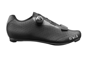 Fizik R5 UOMO BOA Road Cycling Shoes Black/Dark Gray 41.5