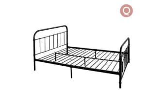 Queen Size Metal Bed Frame (Matte Black)