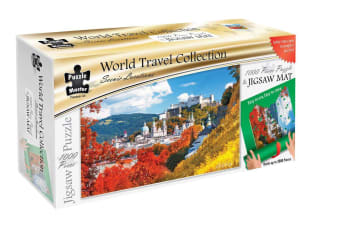 Scenic Locations - Salzburg 1000 Piece Puzzle with Puzzle Mat