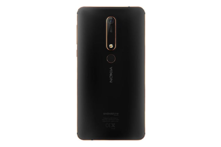 """Nokia 6.1 (5.5"""", 32GB/3GB, Android One) - Black Copper"""