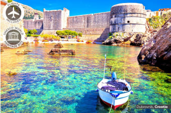 CROATIA: 11 Day Kaleidoscopic Croatia & Slovenia Tour Including Flights for Two