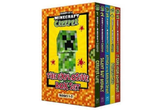 Diary of a Minecraft Creeper - The Explosive Box Set (Books 1-5)