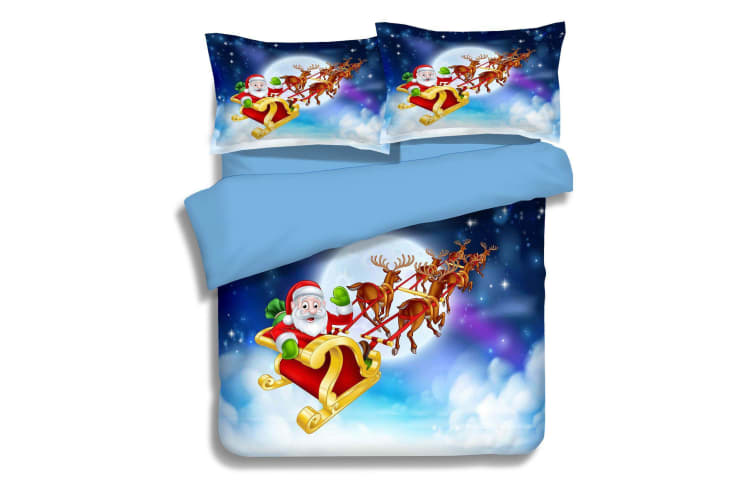 3D Christmas Goodbye 167 Bed Pillowcases Quilt Duvet Cover Bedding Set Quilt Cover Quilt Duvet Cover, King