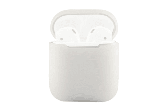 For Apple Airpods Storage Bag Transparent Silicone Protective Box
