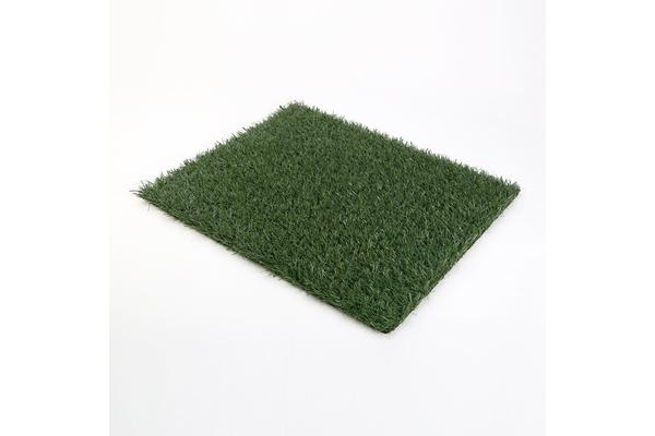 Pet Potty Training Pad Tray L - 1 Grass Mat Only
