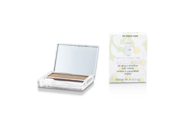 Clinique All About Shadow - # AC French Roast (Soft Matte) 2.2g