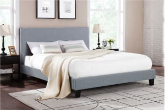 Shangri-La Bed Frame - Ravello Collection (Grey)
