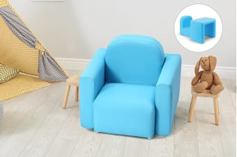 Ovela Kids Transformer Chair Table - Aqua
