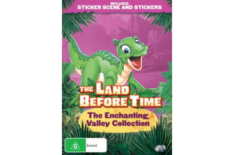 The Land Before Time The Enchanting Valley Collection DVD Region 4