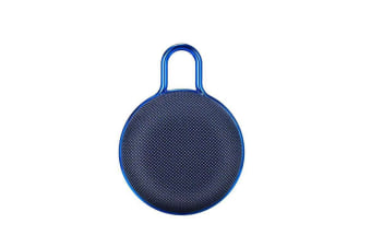 Mini Bluetooth Speaker Portable Subwoofer Sound for Outdoor Sports  BLUE