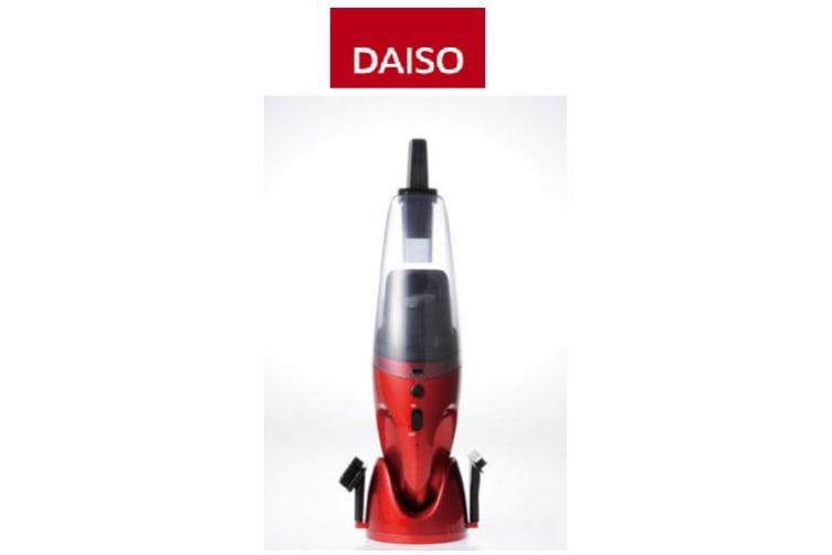 Daiso protable Handheld dry wet vacuum cleaner car 7.2v