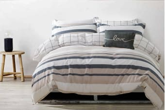 Gioia Casa Jamie Quilt Cover Set (Queen)