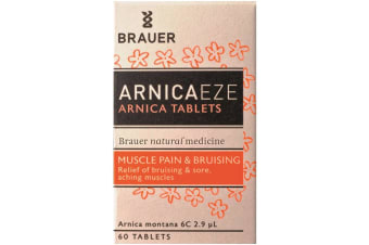 Brauer ArnicaEze Arnica Tablets (6C) 60t