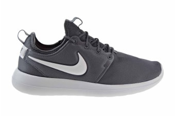Nike Men's Roshe Two Shoe (Dark Grey/Pure Platinum/White, Size 12)