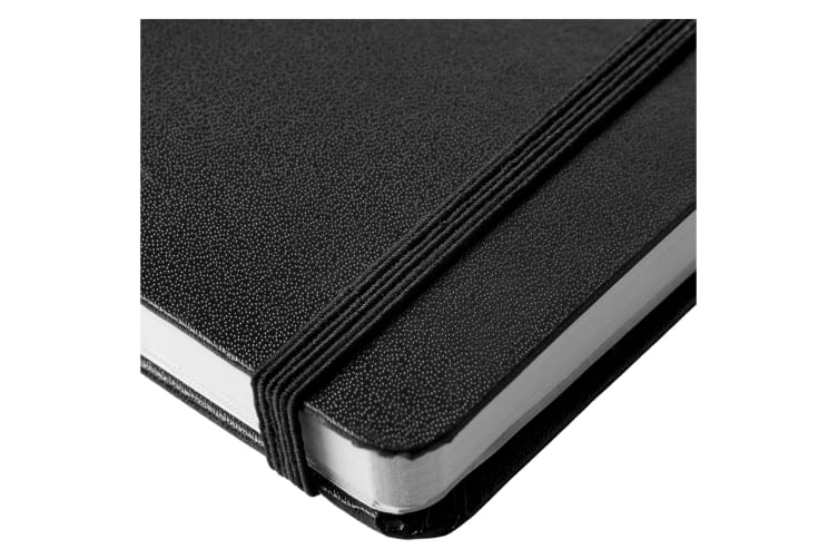 JournalBooks Classic Executive Notebook (Pack of 2) (Solid Black) (29.7 x 21 x 1.5 cm)
