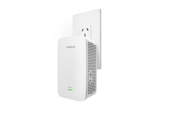 Linksys RE7000 Max-Stream AC1900+ Wi-Fi Range Extender (RE7000-AU)