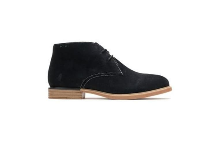 Hush Puppies Womens/Ladies Bailey Bounce Leather Chukka Boot (Black Suede) (9 UK)