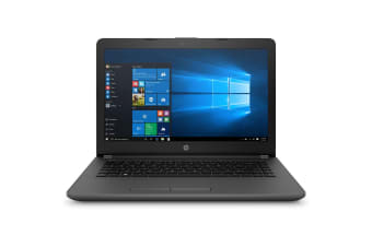 "HP Education Laptop 14"" AMD E2-9000e APU with Radeon R2 Graphics 8GB DDR4 RAM 250GB SSD NO-DVD"