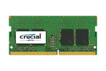 Crucial 4GB DDR4 2400 MT/s (PC4-19200) CL17 SR x8 Unbuffered SODIMM 260pin