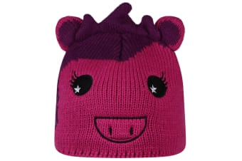 Regatta Great Outdoors Childrens/Kids Animally II Winter Hat (Extreme Pink/Winberry)