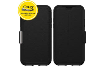 Otterbox Strada Case Cover Protection w/ Card Slot for Apple iPhone X/Xs Shadow