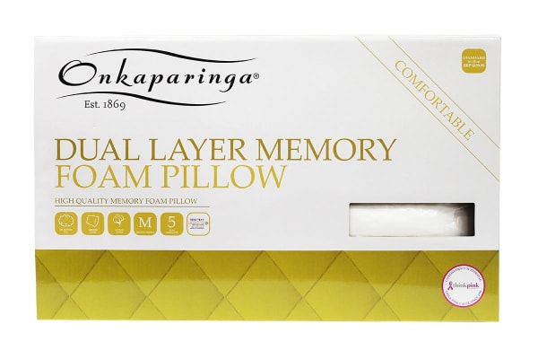 Onkaparinga Dual Layer Memory foam Pillow