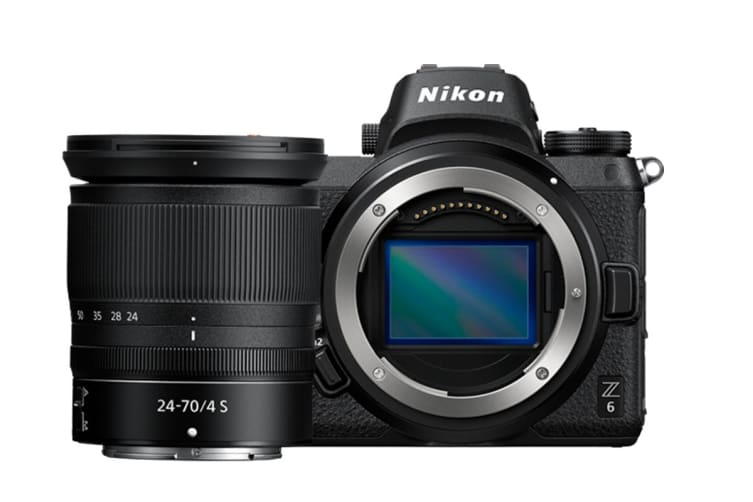Nikon Z6 with 24-70mm & Nikon F-Mount Adapter