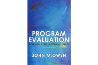 Program Evaluation - Forms and Approaches