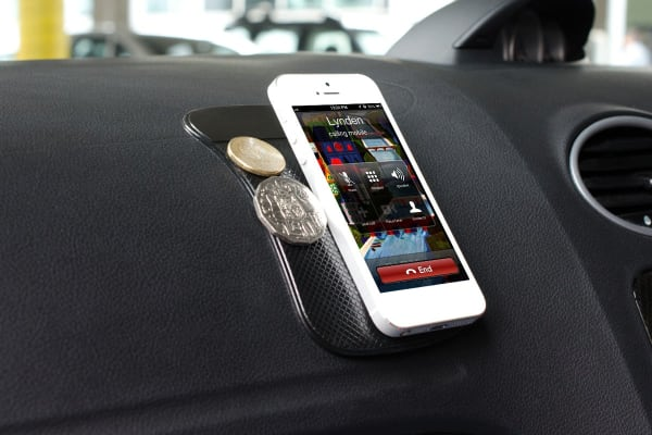 3 Pack Mobile Phone Non-Slip Dash Mat (Black)