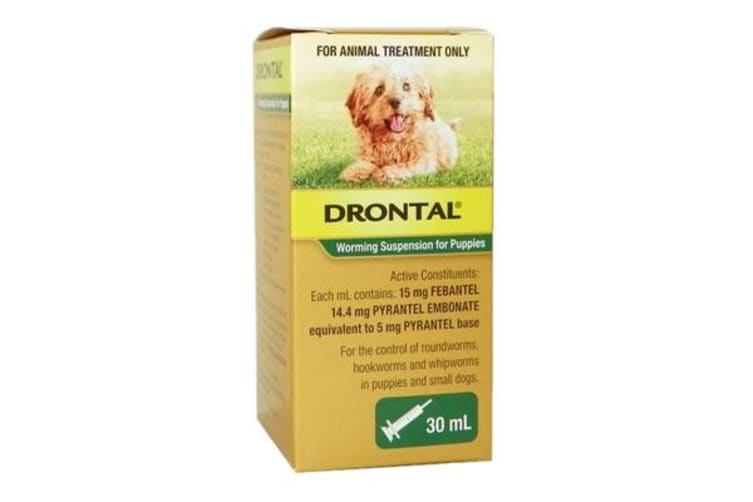 Dick Smith Drontal Puppy Worming Suspension Pet Supplies