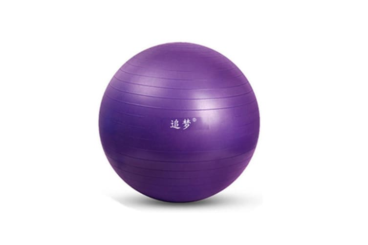 Yoga Balance Stability Swiss Ball for Fitness Exercise Training with Foot Pump 85cm