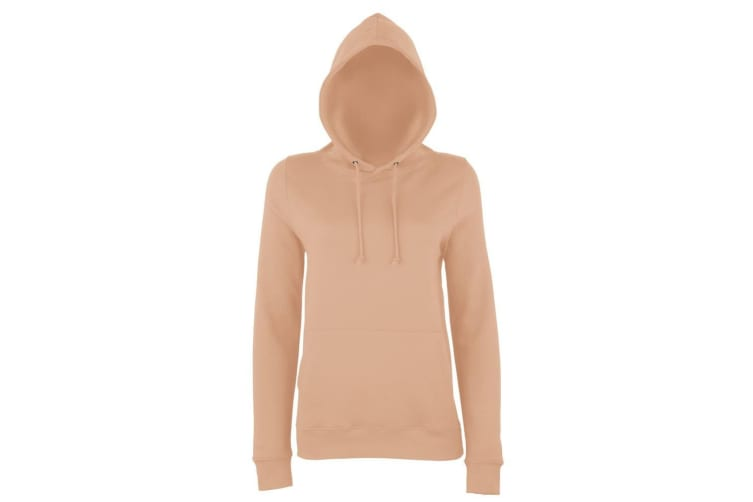 AWDis Just Hoods Womens/Ladies Girlie College Pullover Hoodie (Nude) (S)