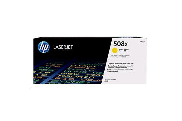 HP TONER 508X YELLOW