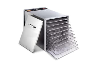 Stainless Steel Food Dehydrator 10 Trays