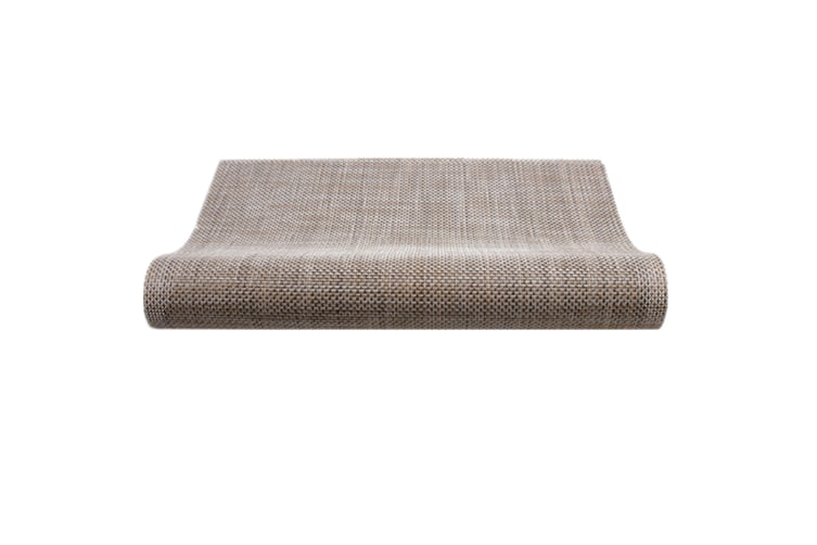 Pvc Table Cushion For The Protection Of Insulation Table Mat Flax Gray