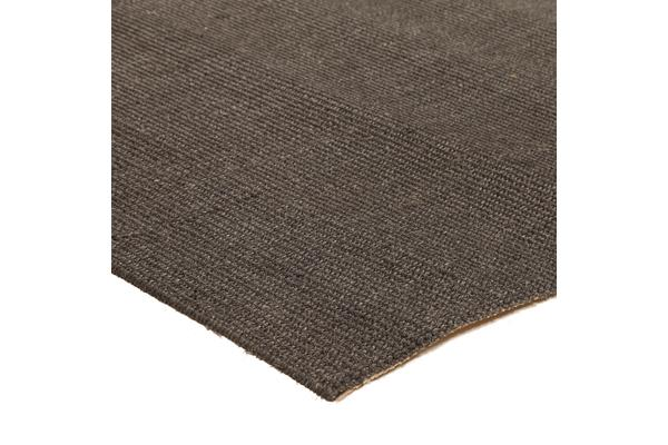 Natural Sisal Rug Boucle Charcoal 160x110cm