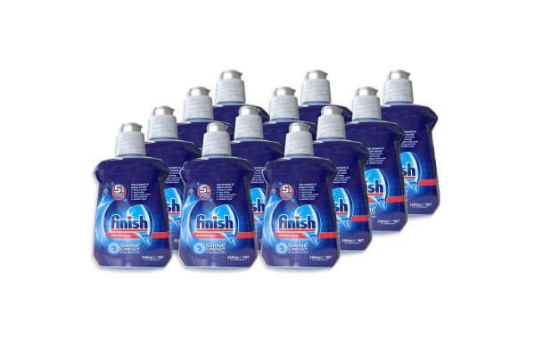 12PK Finish 250ml Rinse Aid - 5x Power Actions