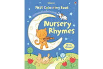 First Nursery Rhymes Colouring Book with Stickers