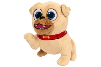 Puppy Dog Pals Beans Plush Rolly with Paw Up