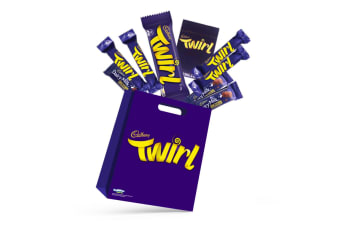 8pc Cadbury Twirl Kids Sweets Showbag w/Dairy Milk Chocolates/Playing Card