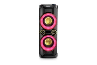 Philips 1000W CD Mini Hi-Fi Party Tower Speaker (NTX400)