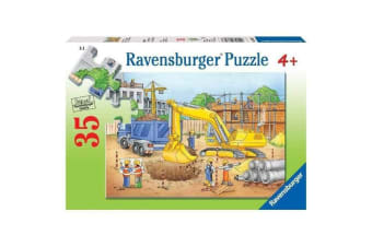 Ravensburger Busy Builders Puzzle - 35 Piece