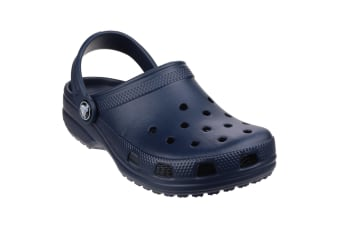 Crocs Childrens/Kids Classic Clogs (Navy) (1 UK)