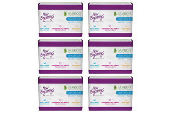 72PC New Beginnings Bamboo Ultra Slim Absorbent Maternity Day/Night Sanitary Pad