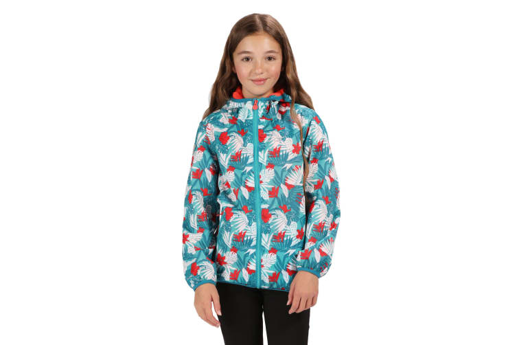 Regatta Great Outdoors Childrens/Kids Printed Lever Pixel Jacket (Ceramic) (7/8)