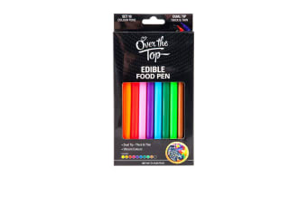 Over The Top Edible Food Pen Colour Set of 10