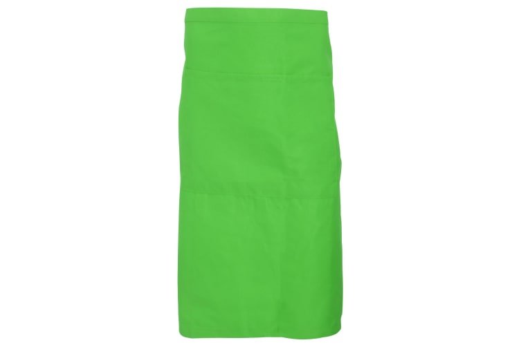 Dennys Adults Unisex Catering Waist Apron With Pocket (Zest) (One Size)